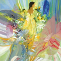 100x100-Fleurs en robe jaune