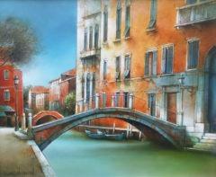 20F-Petit canal à Venise