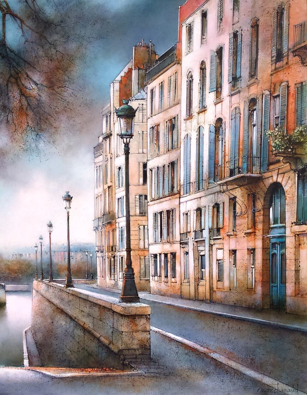 25F-Paris, Quai d'Orléans