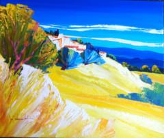 10F La colline jaune