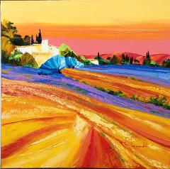 60X60 Provence au couchant