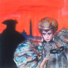 60x60-Un soir à Venise au Carnaval