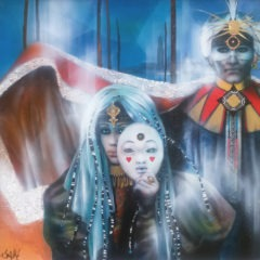 80x80-Prince et princesse d'un carnaval