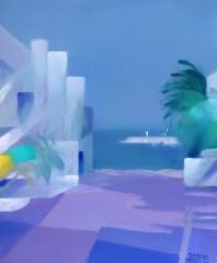 8F-Village en bord de mer